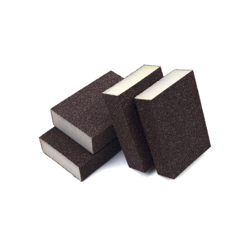 Hurricane 4-Sided Wet / Dry Abrasive Blocks, 80 Grit