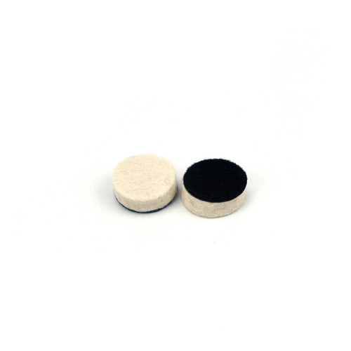 "Hurricane 1"" Hook and Loop Felt Buffing and Polishing Pad"
