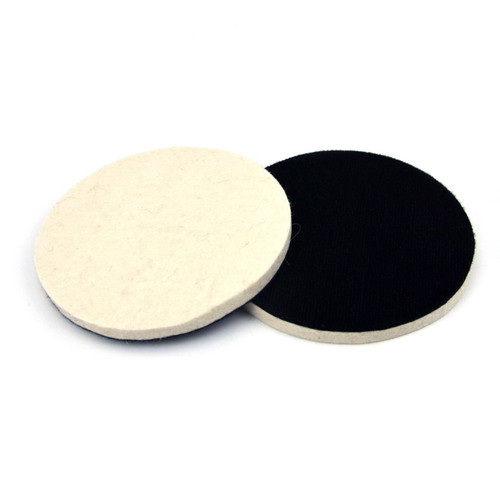 "Hurricane 6"" Hook and Loop Felt Buffing and Polishing Pad"