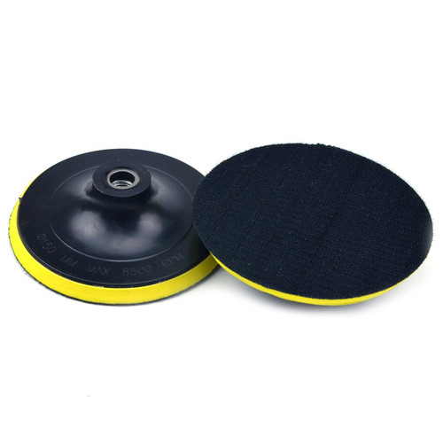 """Hurricane 6"""" Hook and Loop Backer Pad, M14 without Shank"""