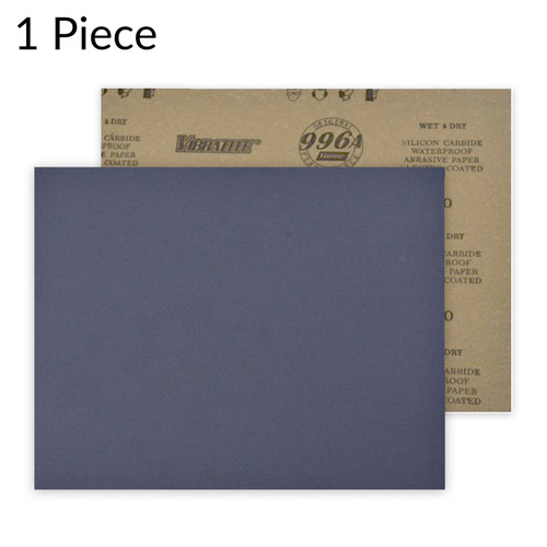 "Hurricane Micro SC, 9"" x 11"" Sheet, 60 - 10000 Grit, Waterproof Silicon Carbide Sandpaper"