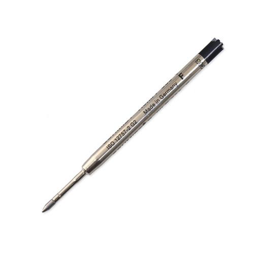 Schmidt P900 Parker Style Pen Refill, Fine, Black