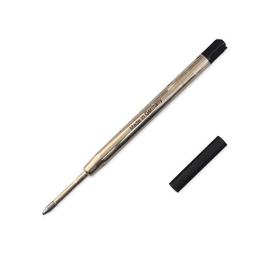 Schmidt Megaline Pressurized Parker Style Pen Refill, Medium, Black