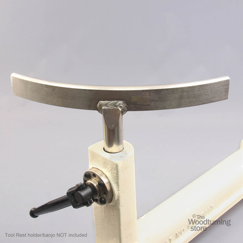 """Oneway Curved Exterior Tool Rest, 1"""" Diameter Standard Post"""