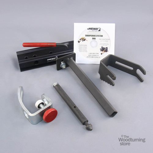 Oneway Vari-Grind 2 Attachment for the Wolvering Grinding Jig, with base