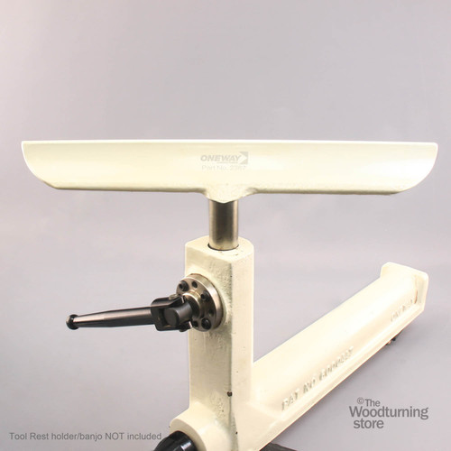 """Oneway Tool Rest, 14"""" Wide, 1"""" Post"""