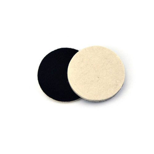 "Hurricane 4"" Hook and Loop Felt Buffing and Polishing Pad"