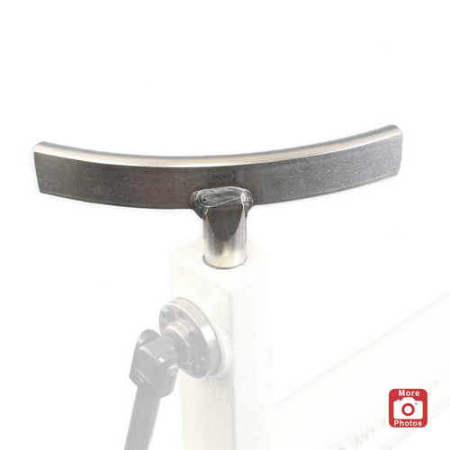 "Oneway Curved Toolrest, 1"" Post, Exterior, Short Post"