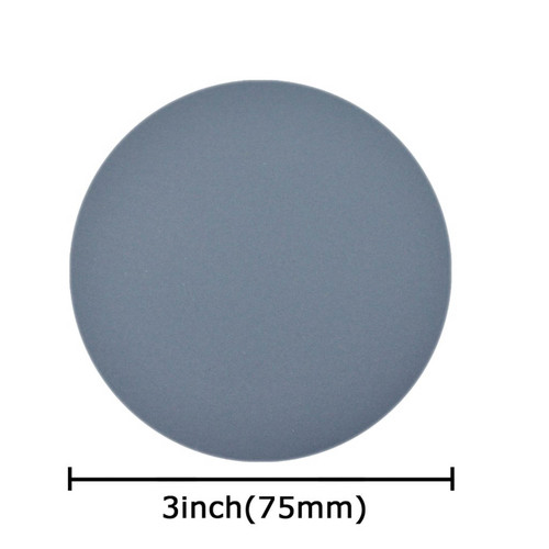 """Micro SC, 3"""" Waterproof Sandpaper, Silicon Carbide Sanding Disc, Pack of 10, all grits"""