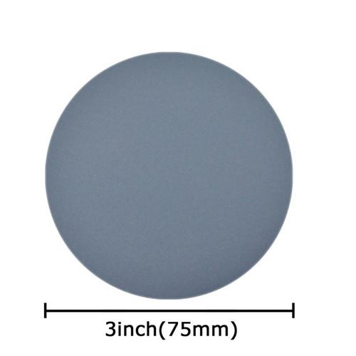 "Hurricane Micro SC, 3"" Waterproof Sandpaper, Silicon Carbide Hook and Loop Sanding Disc, Pack of 10, Choose from 1000 - 10000 Grit"