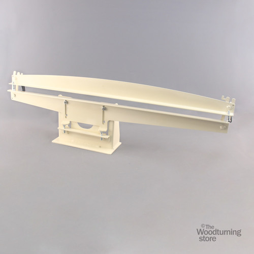 """Oneway 10""""-12"""" Back Rest for the Hollowing System, No Clamp Block"""