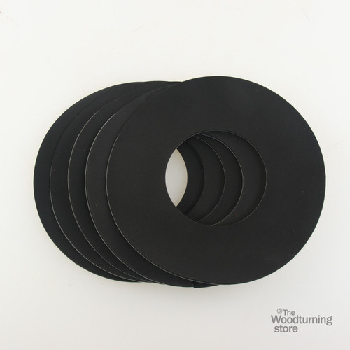 "Oneway Neoprene Rings for 5 1/2"" Vacuum Chucks, 5 Pack"