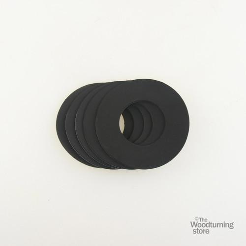 "Oneway Neoprene Rings for 3 1/2"" Vacuum Chucks, 5 Pack"