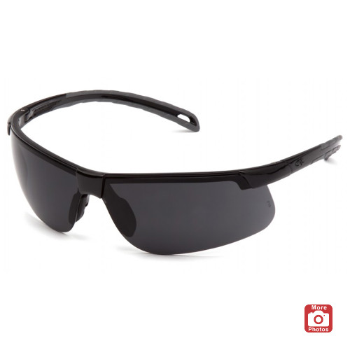 Pyramex Ever-Lite Series Safety Glasses with Dark Lens H2X Anti-Fog Lens