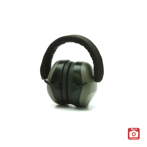 Pyramex PM80 Series Earmuffs, Gray
