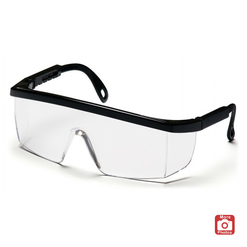 Pyramex Integra Series Safety Glasses with Anti-Fog Lens