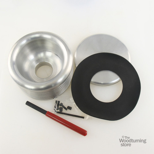 """Oneway 5 1/2"""" Drum for Vacuum Chuck with 1"""" x 8 TPI Insert"""