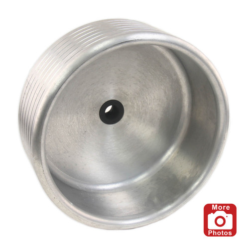 "Oneway 12"" Drum for Vacuum Chuck, with 1 1/2"" x 8 TPI Insert"