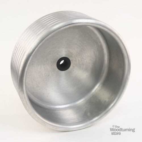 "Oneway 12"" Drum for Vacuum Chuck with 1 1/2"" x 8 TPI Insert"