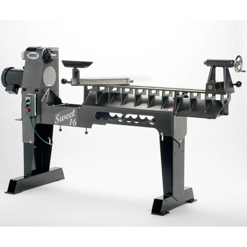 Robust Sweet 16 Woodturning Lathe, Long Bed, 1.5 HP Motor