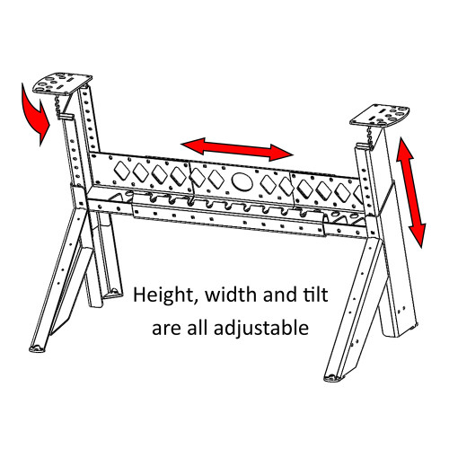 Robust Universal Lathe Stand