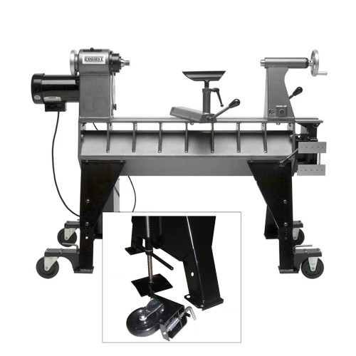 Caster Kit with Jack for the American Beauty Lathe