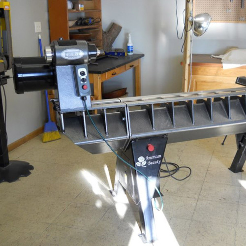 """16"""" Bed Extension for the American Beauty Lathe"""