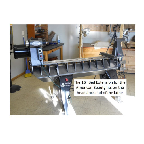 "16"" Bed Extension for the American Beauty Lathe"