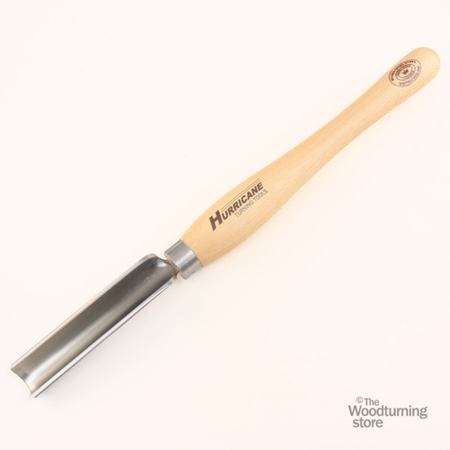 "Hurricane, HTT-231W, M2 HSS 1 1/4"" Spindle Roughing Gouge"