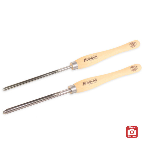 "Hurricane M2 HSS, 2 Piece Bowl Gouge Pro Tool Set (5/8"" and 1/2"" Bar Stock)"