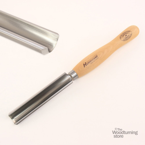 """Hurricane, M2 HSS, 2 Piece Spindle Roughing Gouge Pro Tool Set (1 1/4"""" and 3/4"""" Flute)"""