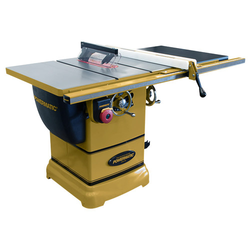 "Powermatic PM1000 Tablesaw, 1-3/4HP 1PH 115V, 30"" Accu-Fence System with Riving Knife"