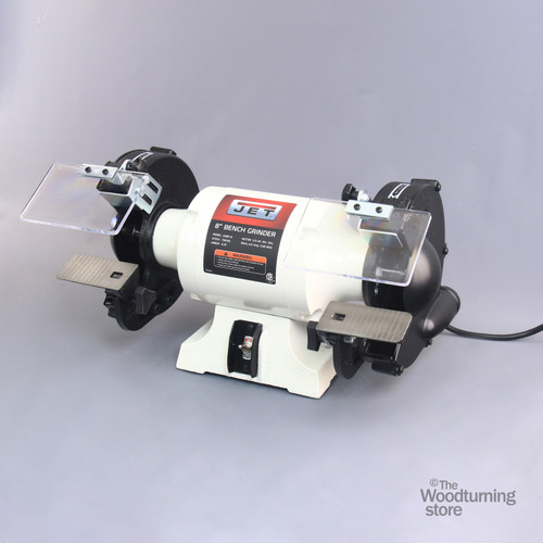 "JET JWBG-8 8"" Slow Speed Bench Grinder, Without Wheels"