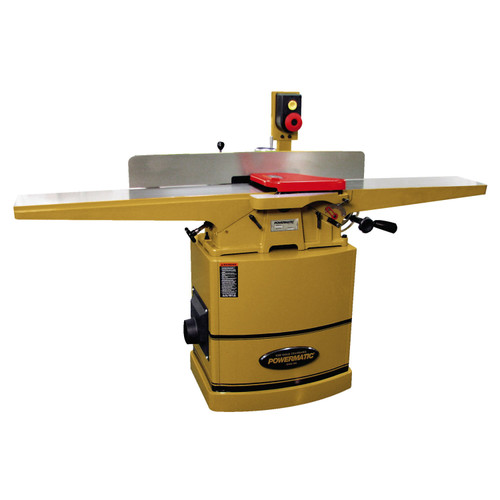"Powermatic 60HH, 8"" Jointer,  2HP 1PH 230V, Magnetic Switch, Helical Cutterhead"