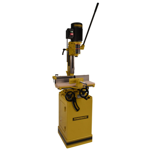 Powermatic 719T, Tilt Table Mortiser with stand, 1HP 1PH 115/230V
