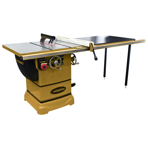 "Powermatic PM1000 Tablesaw, 1-3/4HP 1PH 115V, 52"" Accu-Fence System with Riving Knife"