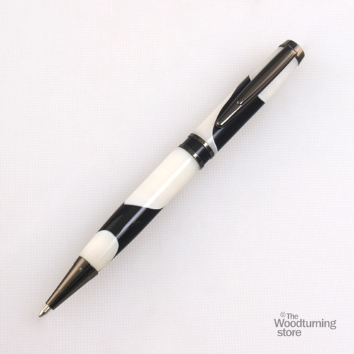 Legacy Elegant American Pen Kit - Gun Metal