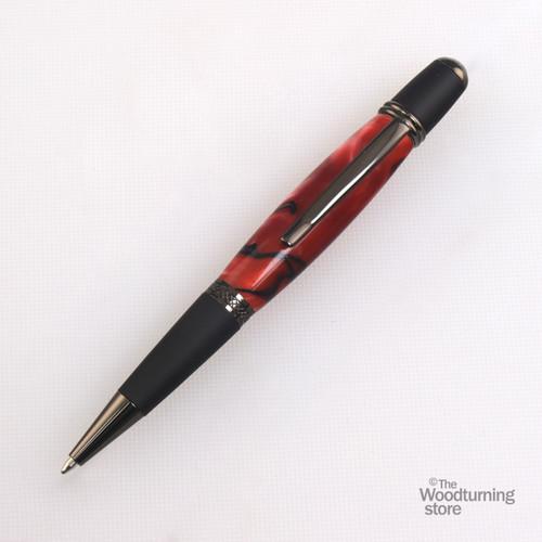 Legacy Viceroy Pen Kit - Gun Metal and Matte Black Chrome