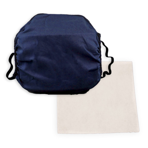 Cotton Face Mask with Filter Pocket with BFE95 Filter Material