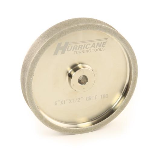 "Hurricane, CBN Grinding Wheel, 6"" x 1"" x .5"", 180 Grit"