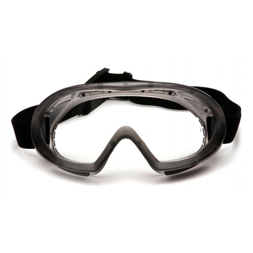 Pyramex Capstone Series Goggle with H2MAX Anti-Fog Lens, 12 Pack