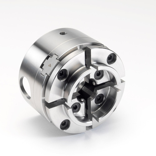 """Record Power 61062, SC3 Chuck Kit with Standard Jaws and 3 1/2"""" Faceplate, 1"""" x 8 TPI Direct Thread"""