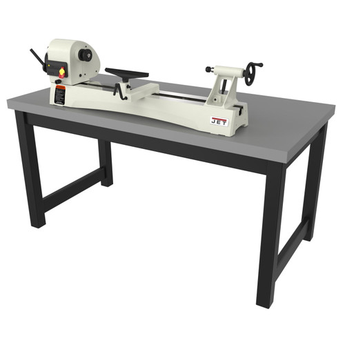 "JET JWL-1440VS 14"" x 40"" Benchtop Variable Speed Wood Lathe, 1HP 1PH 115/230V"
