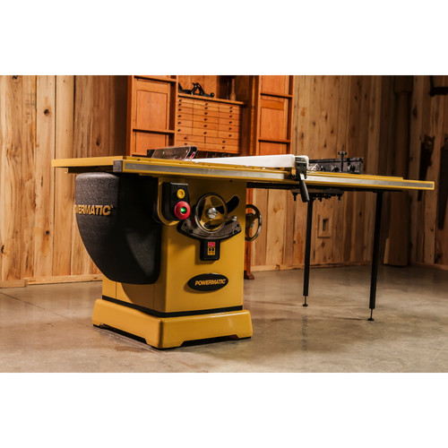 """Powermatic, PM2000, 10"""" Tablesaw, 5HP 1PH 230V, 50"""" Accu-Fence System, Router Lift"""
