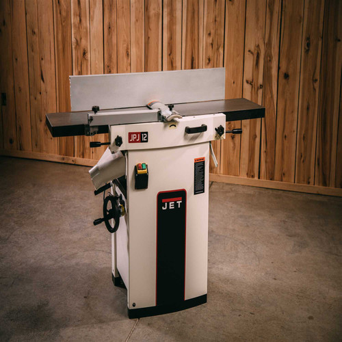 """Jet, JJP-12HH, 12"""" Planer /Jointer with Helical Head"""