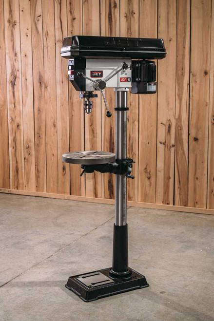 """Jet, JDP-17MF, 16 1/2"""" Floorstanding Drill Press, 3/4HP 1PH 115/230V"""