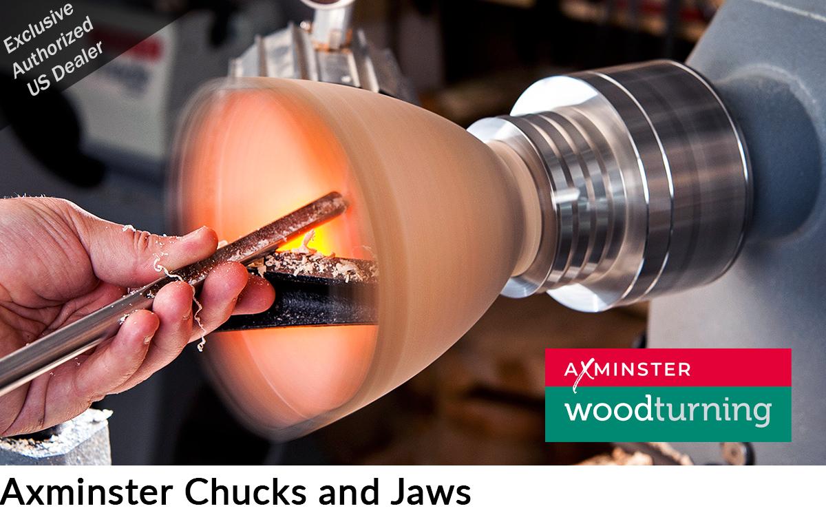Axminster Chucks and Chuck Jaws, Axminster Woodturning