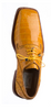 Alligator Shoes Ferrini Men's Tournasol Gold Square Toe 208/51