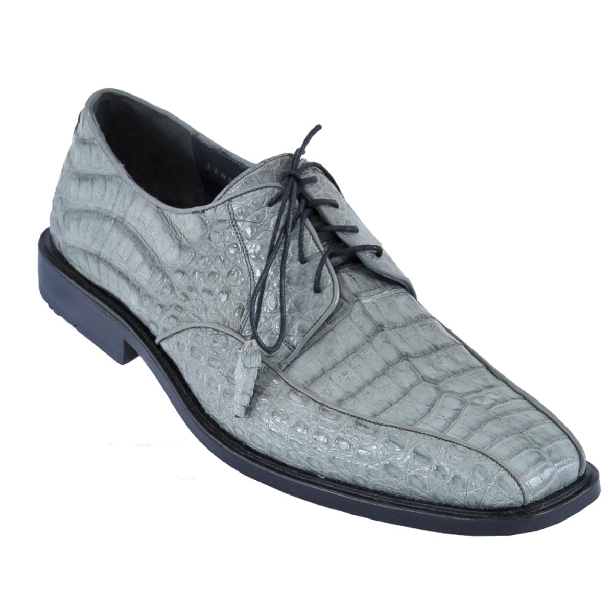 Los Altos Gray Crocodile Bike Toe Shoes ZV038209