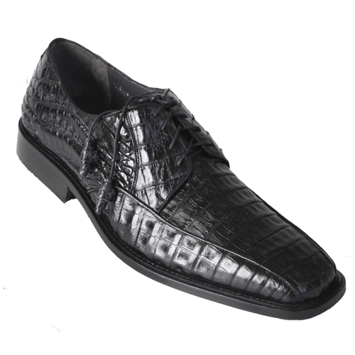 Los Altos Black Crocodile Bike Toe Shoes ZV038205